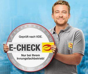 Zertifizierter E-Check